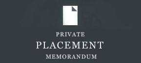 Private Placement Memorandum